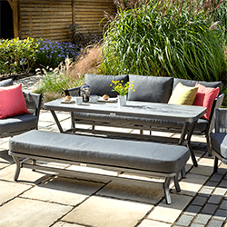 Small Image of Hartman Dubai Lounge Set in Xerix/Slate