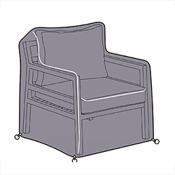 Small Image of Hartman Bari Lounge Chair Cover