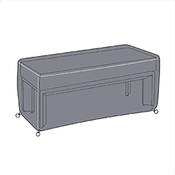 Small Image of Hartman Apollo 3 Seater Bench Cover