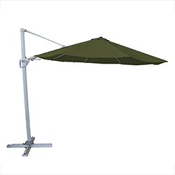 Small Image of Hartman Pacific Round Cantilever Parasol - Moss Green
