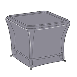 Small Image of Hartman Heritage Square Side Table Cover