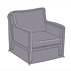 Small Image of Hartman Nouveau Lounge Chair Cover