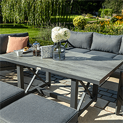 Extra image of Hartman Sorrento Lounge Set in Xerix/Slate