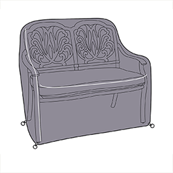 Small Image of Hartman Amalfi Comfort Bench Cover