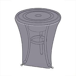 Small Image of Hartman Amalfi Ice Bucket Table Cover