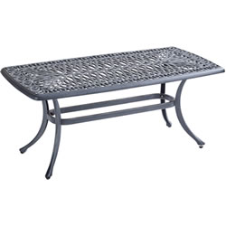Extra image of Hartman Amalfi Rectangular Coffee Table in Antique Grey