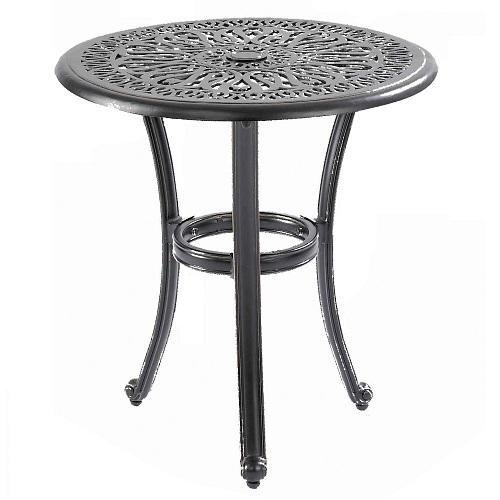 Extra image of Hartman Amalfi Bistro Table in Black with Bronze Fleck