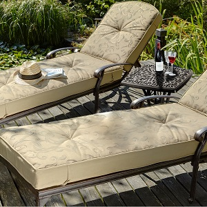 Image of Hartman Amalfi Lounger Duet Set With Side Table