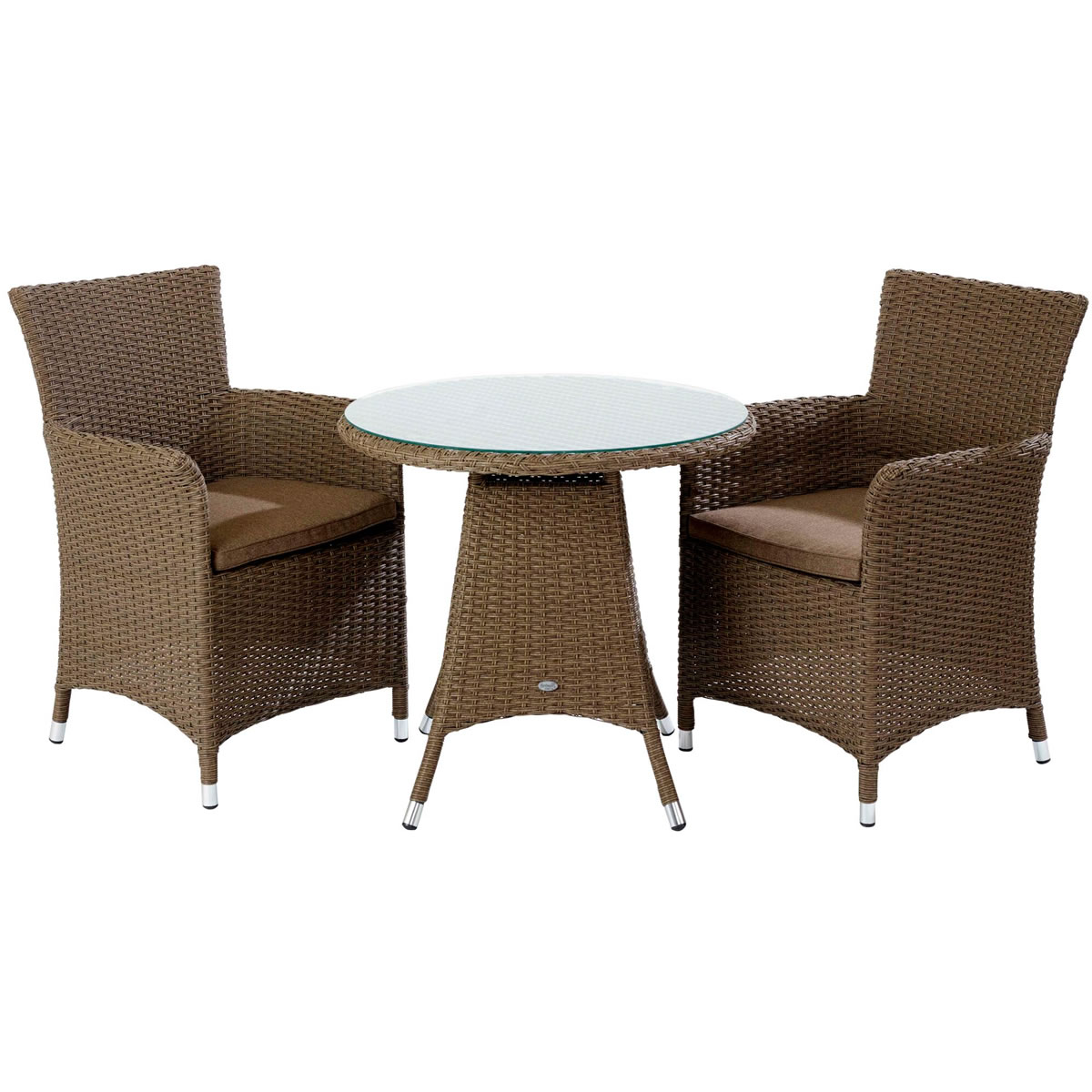 Hartman Appleton Bistro Garden Furniture Set In Sepia