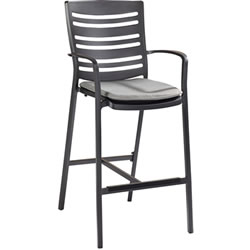 Extra image of Hartman Aurora Bar Stool in Carbon / Pewter