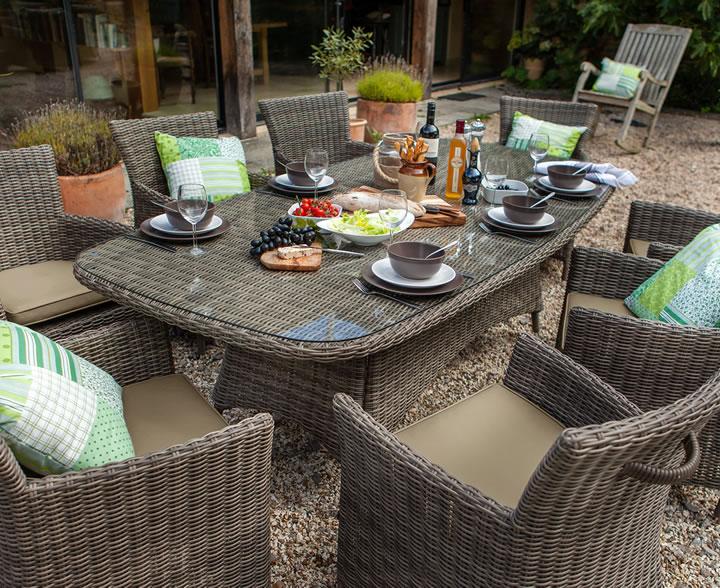 Hartman Bali Louis Garden Furniture. Garden Furniture 8 Seater Metal   Interior Design