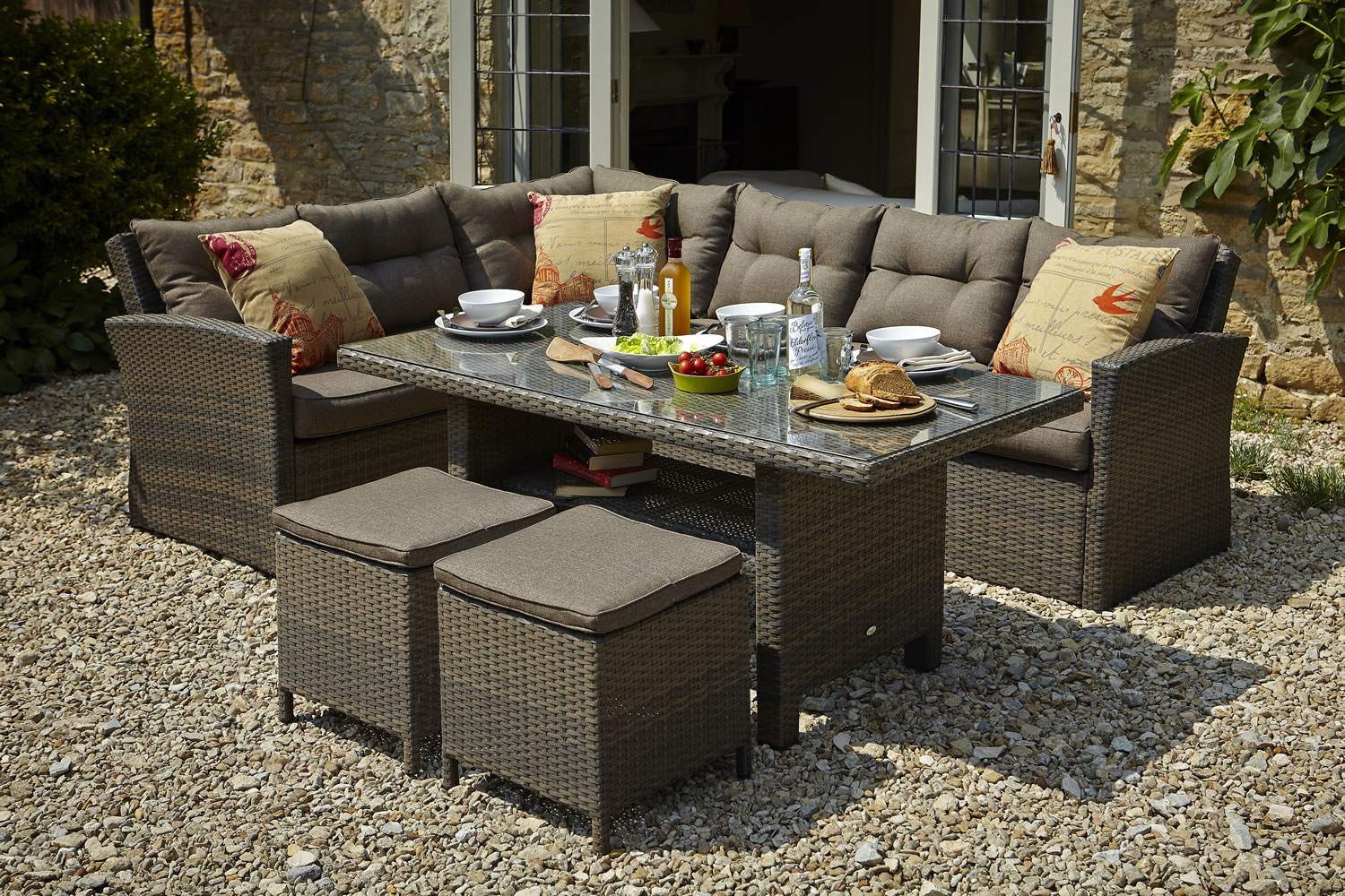 casual dining garden furniture set 960 garden4less uk shop lovely outdoor furniture for less