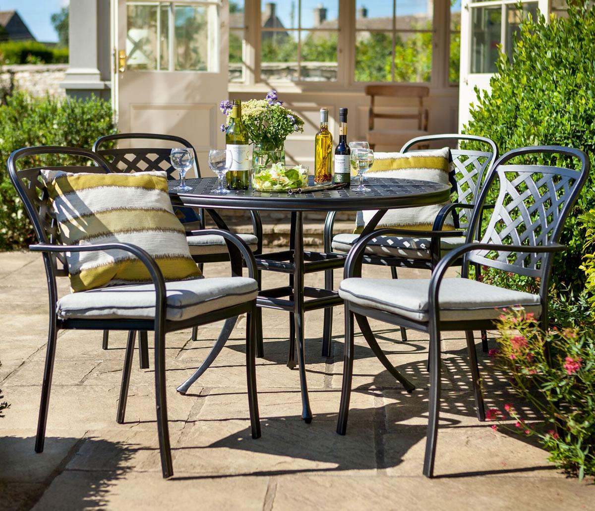 ... Garden Furniture 4 Less Berkeley Cast Aluminium 4 Seater Garden Dining  Set 163 549 Garden4less Uk ...