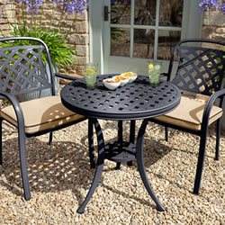 Small Image of 2019 Hartman Berkeley Bistro Set in Bronze / Amber