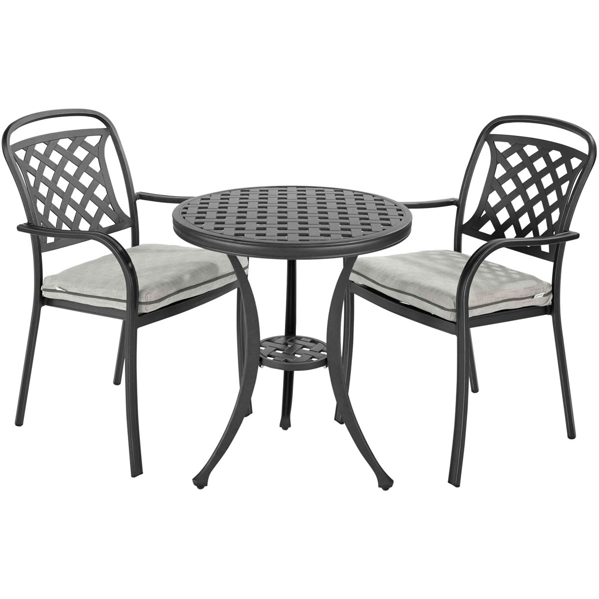 Extra image of Hartman Berkeley Bistro Set - Midnight/Shadow