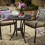 Berkeley Bistro Set - Bronze/Dune