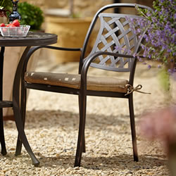 Small Image of Hartman Berkeley Cast Aluminium Armchair with Cushion