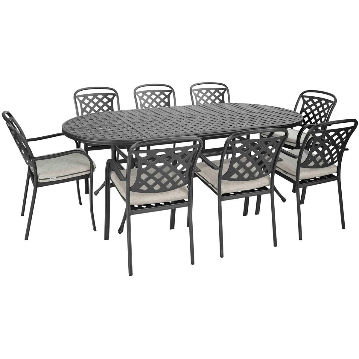 Aluminium Dining Chairs Uk Amalfi Cast Aluminium Garden Dining