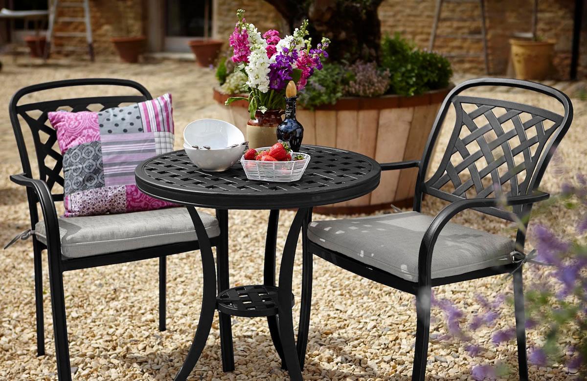Berkeley Cast Aluminium Garden Bistro Furniture Set   £267.75 | Garden4Less  UK Shop