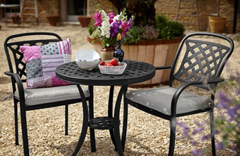 Image of Hartman Berkeley Bistro Set - Midnight/Shadow