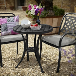 Small Image of Hartman Berkeley Bistro Set - Midnight/Shadow