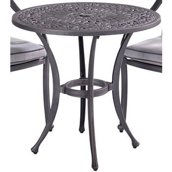 Image of Hartman Capri 76cm Bistro Table in Antique Grey