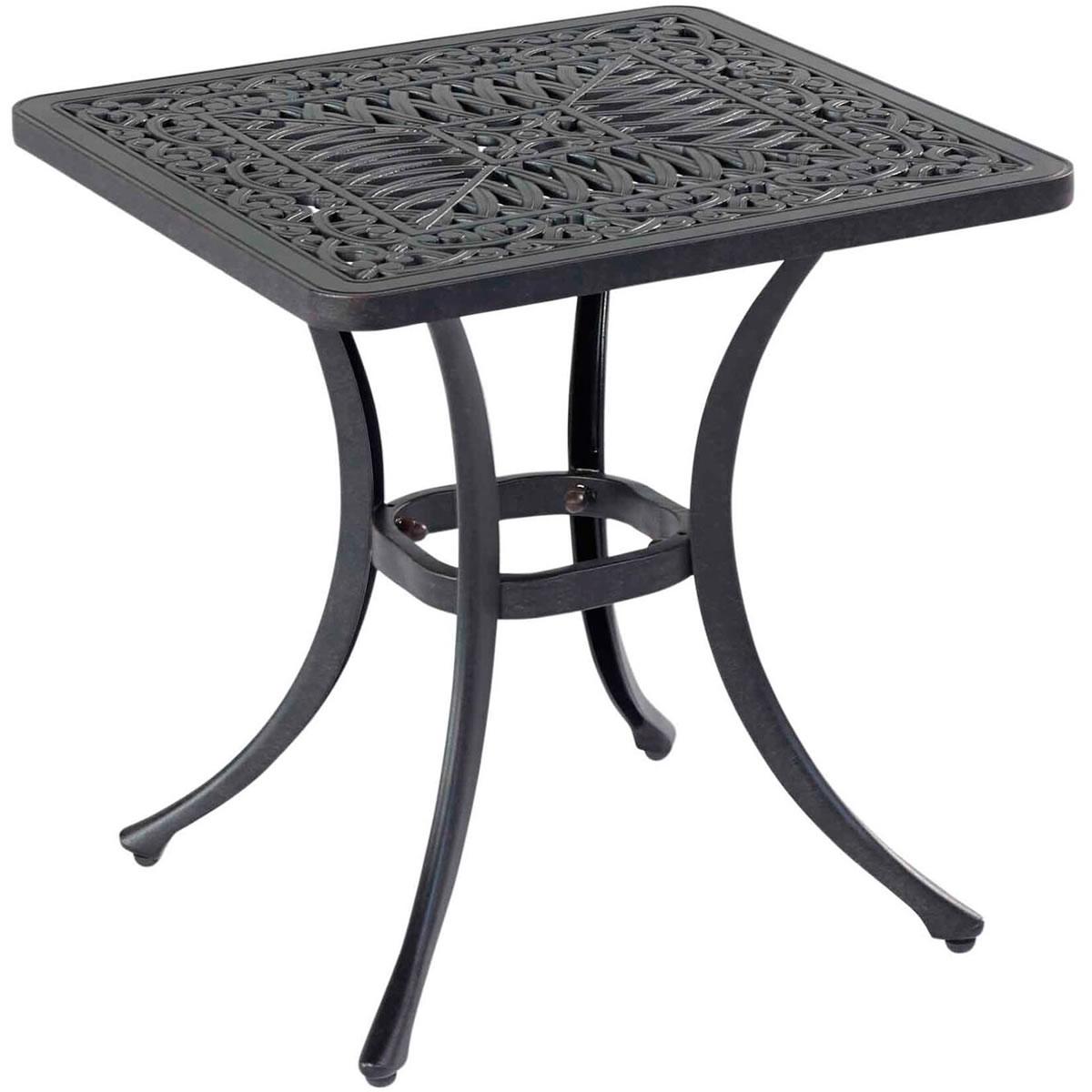 Hartman Capri Cast Square Side Table In Bronze 163 99