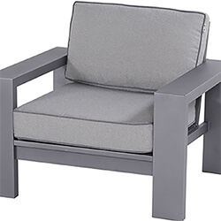 Extra image of Hartman Titan Lounge Chair in Seal / Pewter