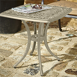 Small Image of Hartman Amalfi Square Side Table in Maize