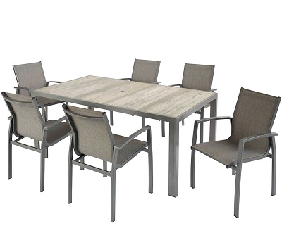 Hartman Georgia 6 seater dining set