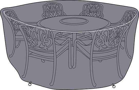 Image of Hartman Amalfi 6 Seater Round Cover