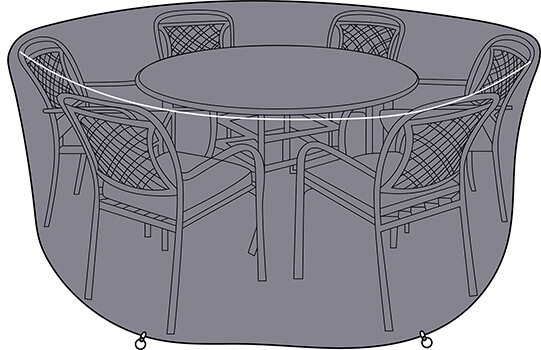 Image of Hartman Berkeley 6 Seat Round Dining Set Cover