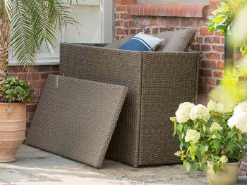 Appleton Madison Essential Weave Cushion Storage Box By