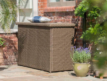 Image of Appleton, Madison, Essential Weave Cushion Storage Box by Hartman Bark