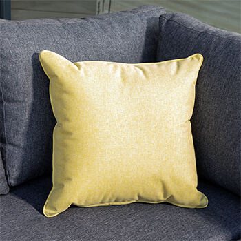 Image of Hartman Ochre Yellow 45cm Square Waterproof Scatter Cushion
