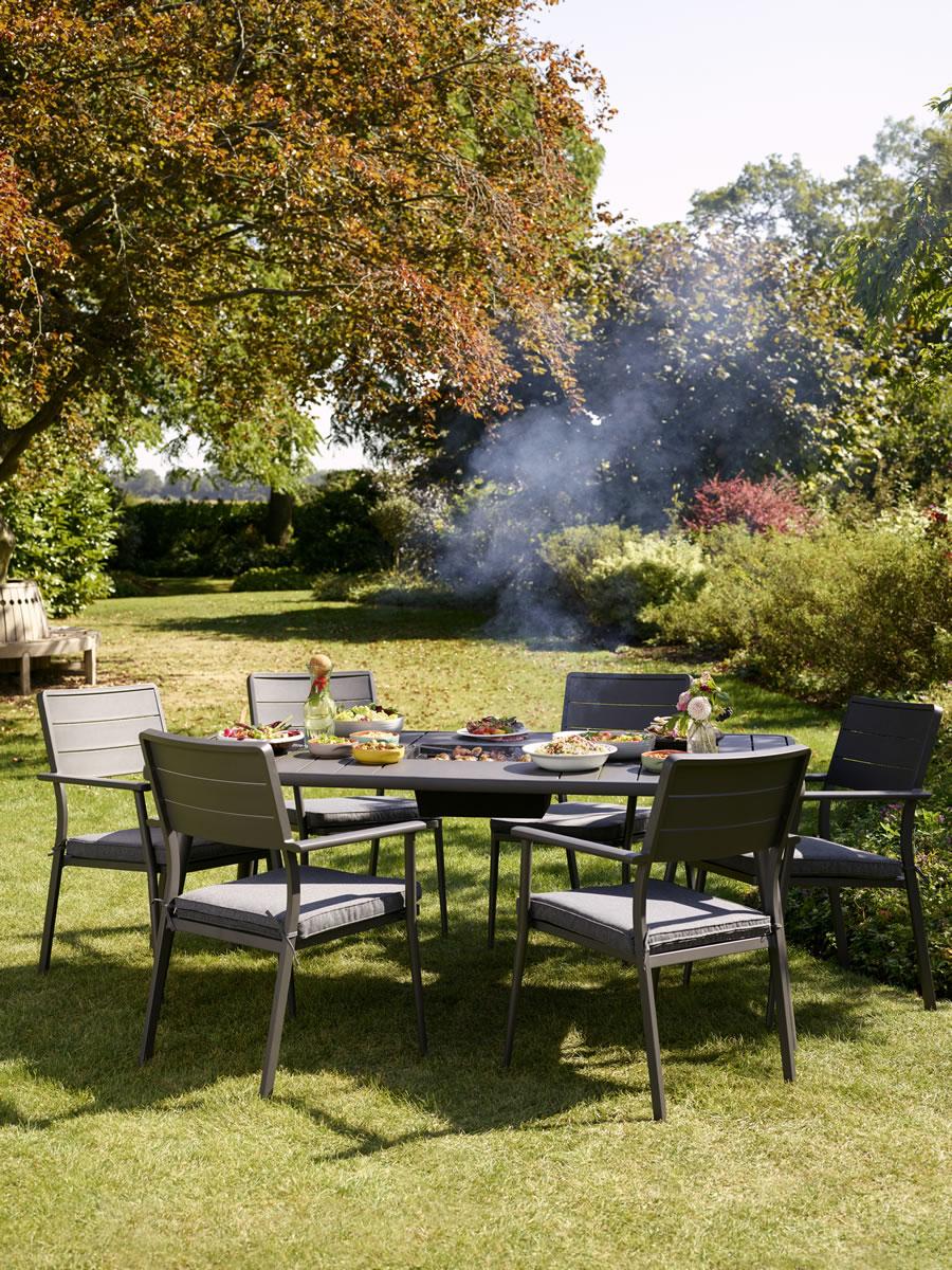 Jamie Oliver Caraway Firepit Dining Set 163 799