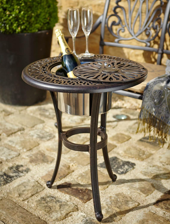 Hartman Amalfi Ice Bucket Table in Bronze