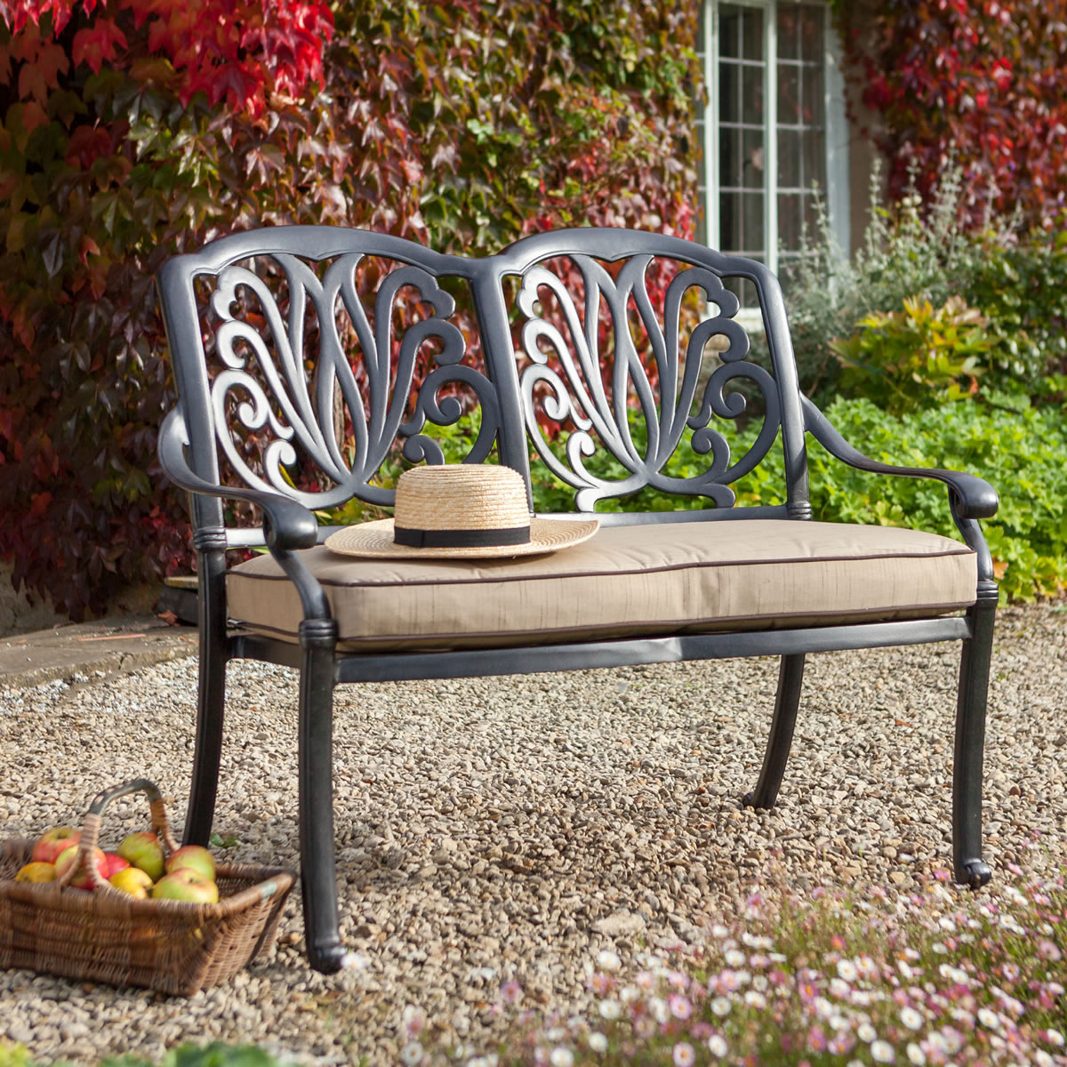ideas sale bench cushions image outdoor best garden seat wonderful design on with and seating small for pinterest back
