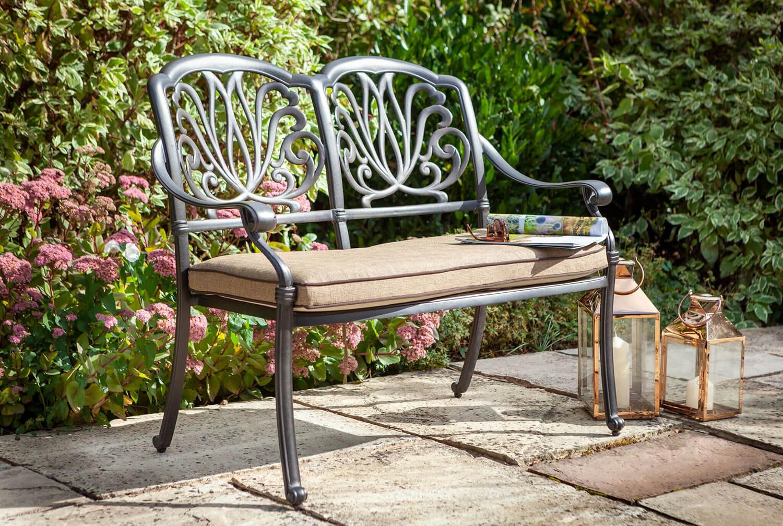 Hartman Amalfi 2 Seat Bench In Bronze Amber 163 299