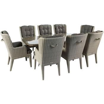 Image of Hartman Louis 6 Seater Weave Garden Furniture Set