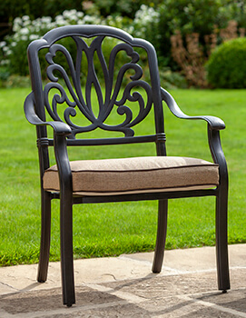 Image of Hartman Amalfi Comfort Dining Chair in Bronze / Amber