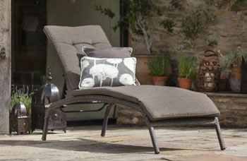 Image of Bentley Lounger with Cushion