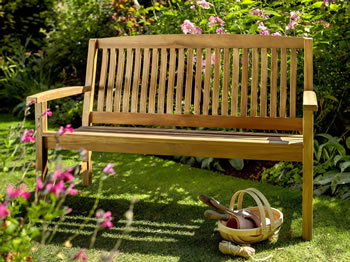 Image of Chartwell 2 Seater FSC Garden Bench from Hartman