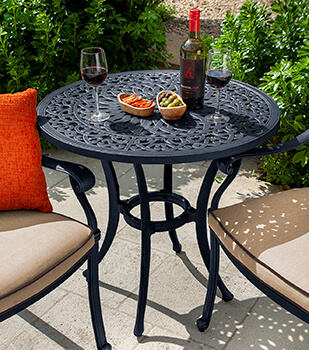 Image of Hartman Capri 76cm Bistro Table in Bronze