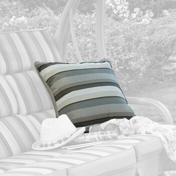Image of Hartman Aruba Striped Scatter Cushions (Pair)