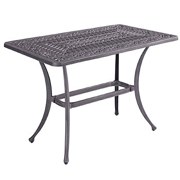 Image of Hartman Capri Rectangular Casual Coffee Table in Antique Grey