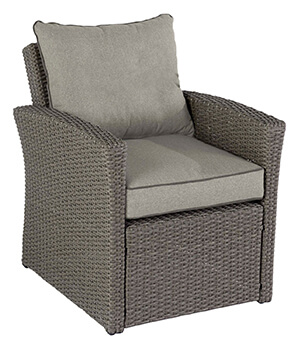 Image of Hartman Madison Essential Flat-pack Casual Armchair in Slate / Stone