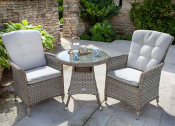 Image of Hartman Heritage Bistro Set in Beech / Dove