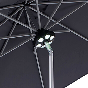 Image of Rechargeable LED Parasol Light from Hartman