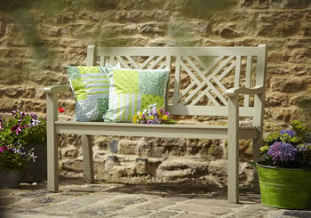 Image of Lovely 2 Seater FSC Garden Bench from Hartman